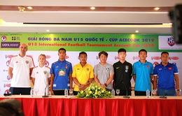 """""""Giải U15 Quốc tế là cơ hội để U15 Việt Nam cọ xát quốc tế trước Vòng loại U16 Châu Á 2020"""""""