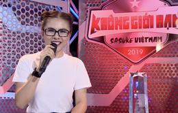 Sasuke Việt Nam 2019 - Tập 6: Vân Trang hứng khởi trong lần đầu tiên ngồi ghế bình luận viên