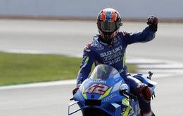 Moto GP: Alex Rins giành chiến thắng kịch tính tại GP Anh