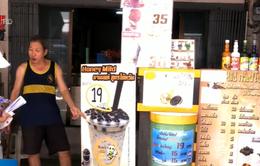Giới trẻ Thái Lan đối mặt với nguy cơ bệnh tật vì trà sữa