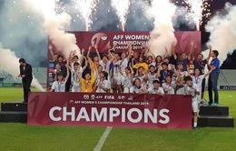 ĐT nữ Việt Nam được thưởng nóng 1,3 tỷ đồng sau chức vô địch Đông Nam Á tại Thái Lan