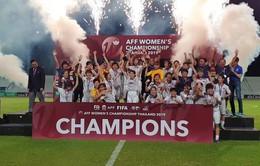 Vượt qua ĐT Thái Lan sau 120 phút kịch tính, ĐT nữ Việt Nam lên ngôi vô địch AFF Cup