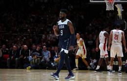 Đội tuyển bóng rổ Mỹ kết thúc quá trình chuẩn bị FIBA World Cup 2019