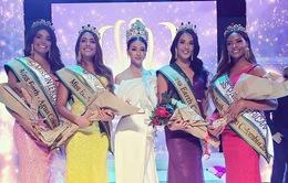 Phương Khánh diện thiết kế độc lạ làm Giám khảo Miss Earth Colombia 2019