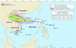 Khoảng chiều đến tối 30/8 bão số 4 vào đất liền Thanh Hóa - Quảng Bình