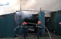 Khống chế thành công đám cháy lớn tại Nguyễn Xiển, Hà Nội