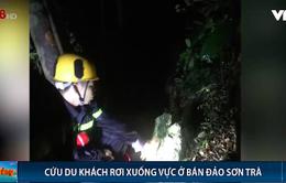 Đà Nẵng: Cứu du khách lạc đoàn rơi xuống vực sâu tại bán đảo Sơn Trà