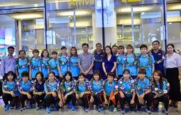 ĐT nữ Việt Nam rạng rỡ ngày trở về sau chức vô địch Đông Nam Á 2019
