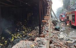Cập nhật hiện trường vụ cháy nhà máy tại Hạ Đình (Hà Nội) vào sáng nay (29/8)