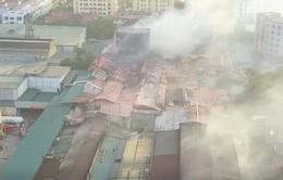 Không ăn thực phẩm trong bán kính 1km từ vụ cháy nhà máy Rạng Đông