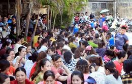 Công nhân của Công ty KaiYang Việt Nam lại ngừng làm việc