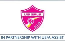 U15 nữ Việt Nam đọ sức U15 Iceland tại giải bóng đá nữ U15 Quốc tế 2019