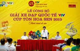 """Lễ công bố Giải xe đạp Quốc tế VTV Cúp Tôn Hoa Sen 2019: """"Hành trình di sản"""""""