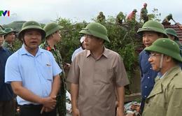 Bộ trưởng Nguyễn Xuân Cường kiểm tra công tác khắc phục hậu quả bão số 4 tại Hà Tĩnh
