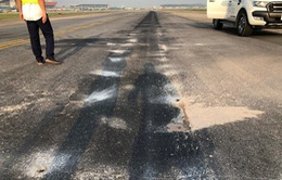 Đóng cửa đường lăn S3 tại Nội Bài 5 ngày để sửa chữa