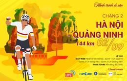 Chặng 2 Giải xe đạp Quốc tế VTV Cúp Tôn Hoa Sen 2019: Hà Nội - Quảng Ninh (144 km)