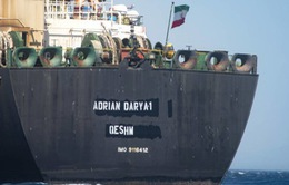 Mỹ trừng phạt tàu chở dầu Adrian Darya 1 của Iran