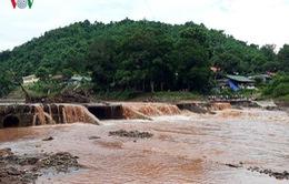2 trẻ nhỏ thiệt mạng và mất tích do lũ cuốn tại Điện Biên