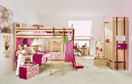 Những căn phòng khiến trẻ cảm thấy thích thú