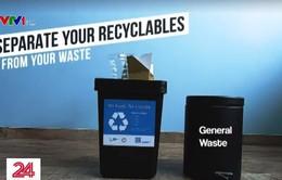 Singapore: 18.000 hộ dân được nhận thùng rác miễn phí