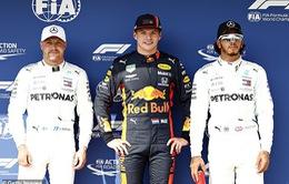 Max Verstappen giành vị trí xuất phát đầu tiên tại GP Hungary