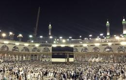 Khoảng 2,5 triệu tín đồ Hồi giáo hành hương đến thánh địa Mecca