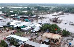 Kiên Giang: Hàng trăm căn nhà bị cuốn trôi và hư hỏng