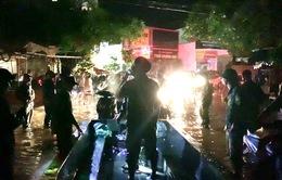 500 hộ dân Phú Quốc phải sơ tán vì ngập
