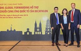 DHL Global Forwarding hỗ trợ chuỗi cung ứng quốc tế của Decathlon