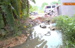 Chính quyền phản hồi về khu giãn dân 10 năm không có đường thoát nước thải