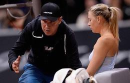 Maria Sharapova chia tay HLV Thomas Hogstedt
