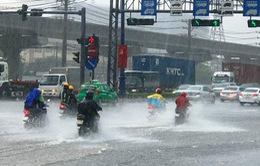 Mưa lớn ở Tây Nguyên, Nam Bộ, lũ trên sông Srêpôk đang lên nhanh