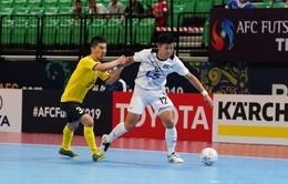 VIDEO: Ngược dòng ấn tượng trước AGMK, Thái Sơn Nam khởi đầu thuận lợi ở giải futsal CLB châu Á