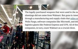 Các hãng bán lẻ Mỹ đắn đo chuyện bán súng đạn
