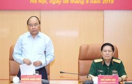 Thủ tướng làm việc với Bộ Quốc phòng về công tác quản lý, sử dụng đất quốc phòng