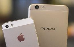 """iPhone """"ế"""", Oppo vượt Apple thành hãng smartphone số 3 thế giới"""