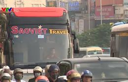Hà Nội phân luồng giao thông phục vụ thi công cầu cạn trên tuyến Phạm Văn Đồng