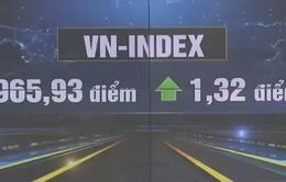 Vn-Index tìm lại sắc xanh sau 3 phiên giảm liên tiếp