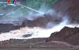 Nguy cơ vỡ đập hồ thủy điện Đắk Kar tạm thời được đẩy lùi