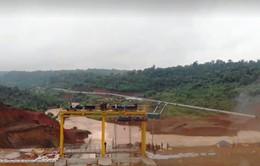 Thủy điện Đắk Sin 1 gặp sự cố, thủy điện Đăk Kar gia tăng áp lực