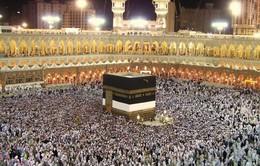 Các tín đồ Hồi giáo bắt đầu hành hương về Mecca