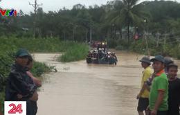 Lâm Đồng: Nước rút chậm khiến nhiều địa phương bị chia cắt