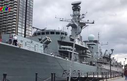 Chiêm ngưỡng tàu khu trục HMS Westminster của Anh