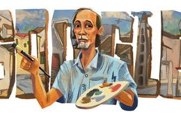 Google vinh danh họa sĩ Bùi Xuân Phái nhân 99 năm ngày sinh của ông