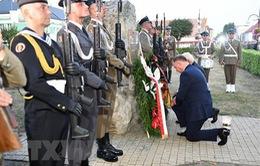 Tưởng niệm 80 năm nổ ra Chiến tranh Thế giới Thứ hai