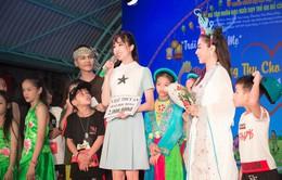 Á hậu Thúy An và lễ Trung thu ý nghĩa trước khi lên đường thi Miss Intercontinental