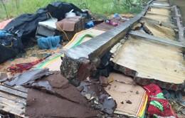 Thái Nguyên: Mưa lớn làm tường đổ sập, 3 người thiệt mạng
