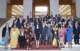 Thủ tướng tiếp Đại sứ các nước Trung Đông - châu Phi