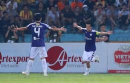 CLB Hà Nội 6-1 DNH Nam Định: Omar, Văn Quyết lập cú đúp, CLB Hà Nội củng cố ngôi đầu V.League 2019