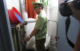 """Phát hiện cơ sở sản xuất nước mắm """"bẩn"""" tại Bình Dương"""